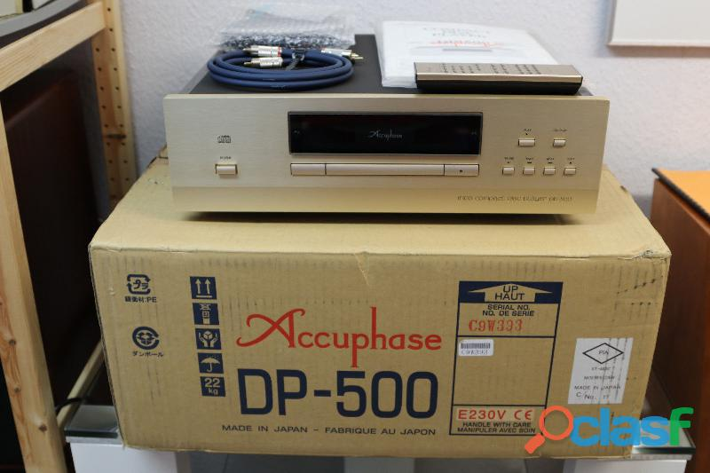 Cd Lettori Accuphase DP 500