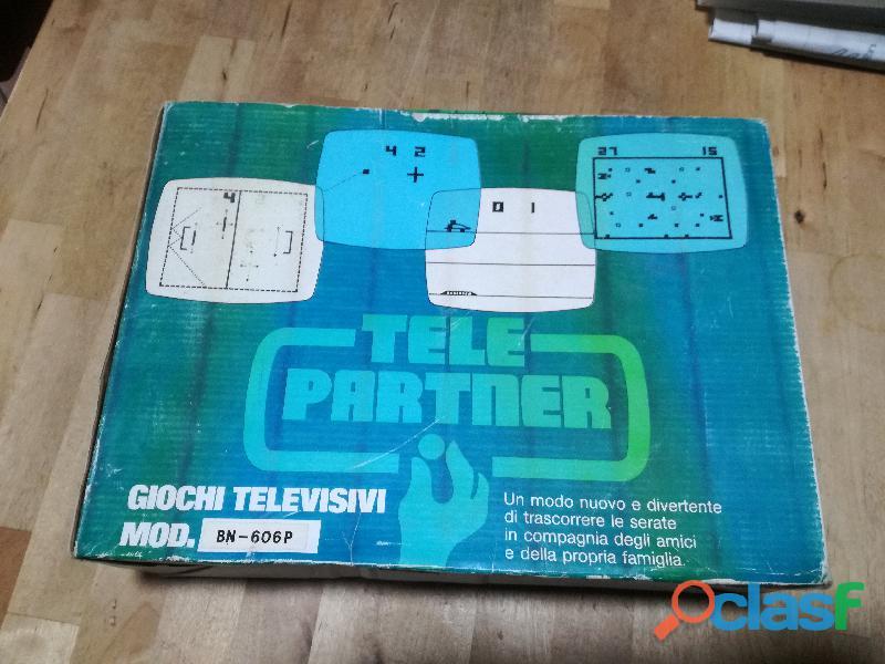 video gioco vintage, anni 70/80 mod. BN 606 P