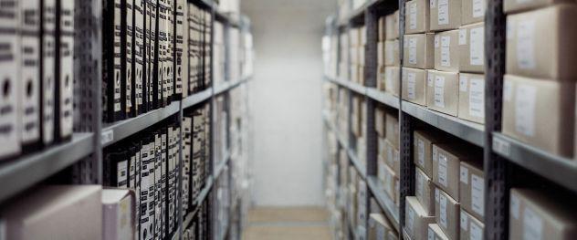 Servizi di archiviazione e gestione documenti contabili