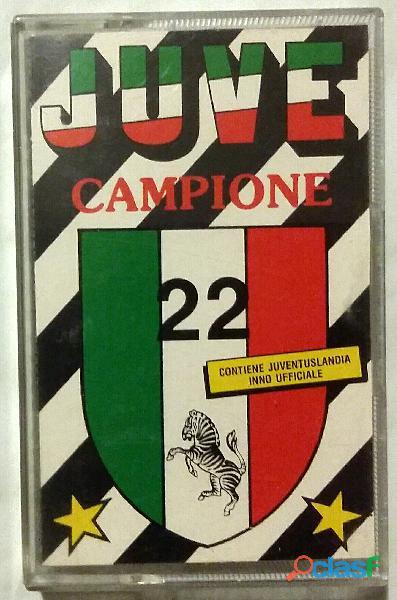 MC Musicassetta (1989) JUVE CAMPIONE 22, ETICHETTA DKC 431