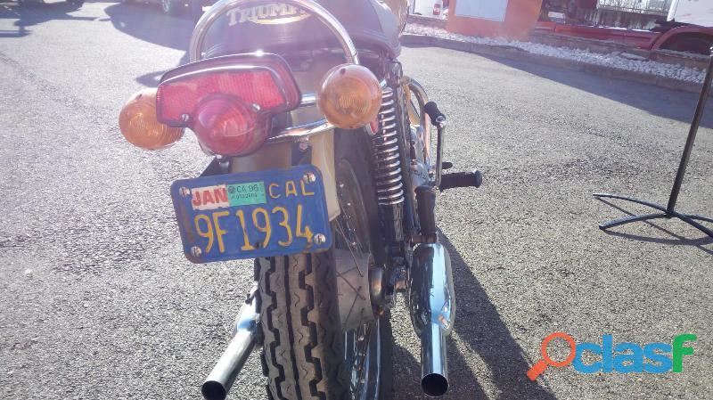 Triumph T120RV Bonneville 2
