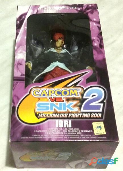 Iori Full Action Figure Capcom Vs. Snk 2 nuovo con scatola