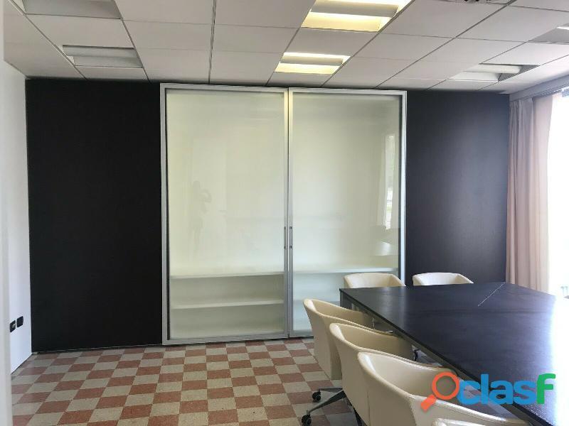 Sala riunioni tavolo 360 cm + armadio ante scorrevoli in ...
