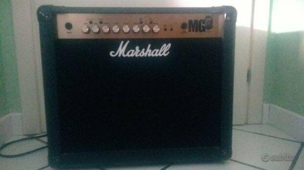 Amplificatore marshall mg30fx