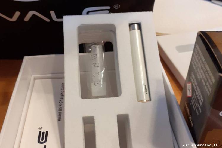 Sigaretta elettronica e-mini ovale bianca, € 30.00,