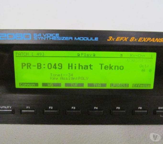 Roland jv2080 + korg m3r + m1rex + card