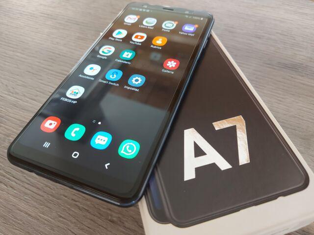 Smartphone samsung a7 dual sim perfetto