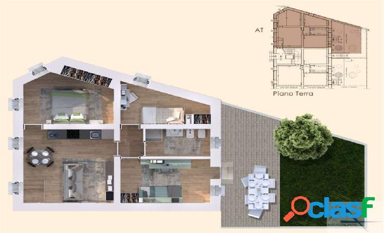 Appartamento con giardino_portello - rif: w432