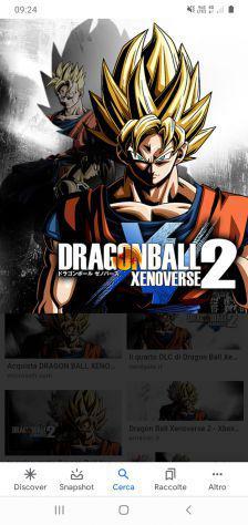 Dragonball xernoverse 2 e tu ti oh per switch