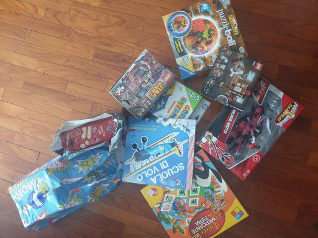 Giochi e giocattoli per bambini nuovi confezionati