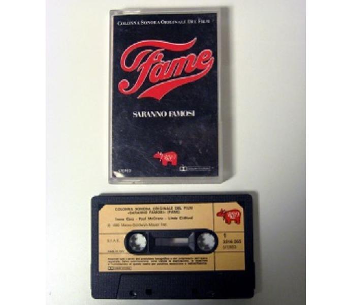 Musicassetta originale del 1980–colonna sonora film-fame