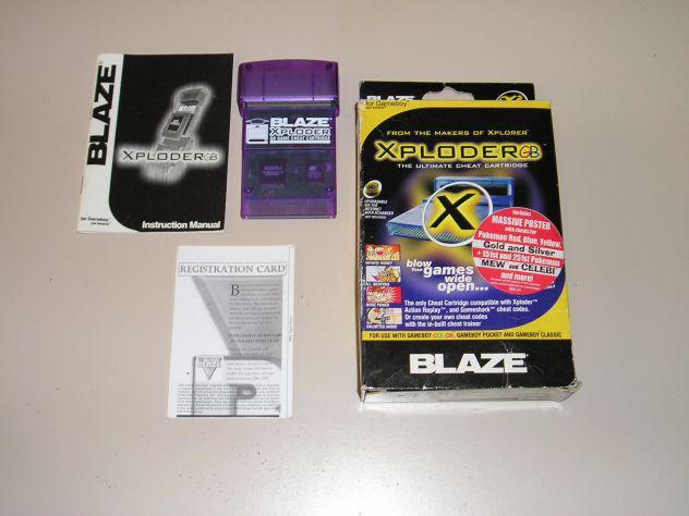 Xploder BLAZE (BOXATO) codici/trucchi PER GAME BOY, GAME BOY