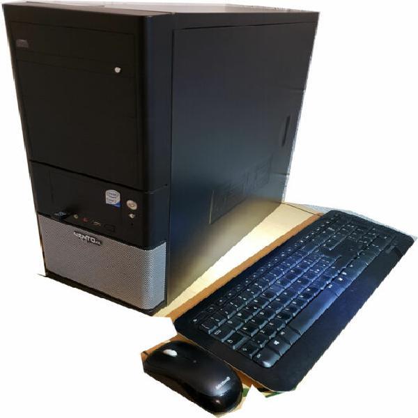 Computer intel quadcore ssd 120g e hard disk 750gb