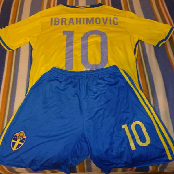 Maglia calcio svezia ibrahimovic adidas