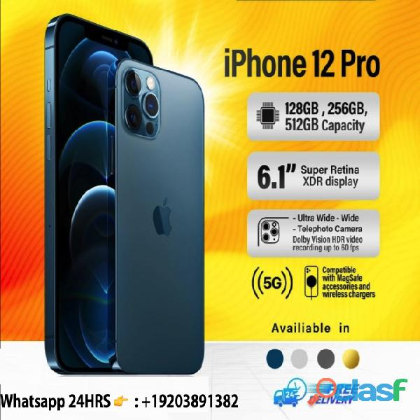 New sealed iphone 12 and iphone 12 pro + extra free airpod pro (be among the first users in the wor