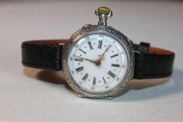 Orologio antico adattato polso fine 800