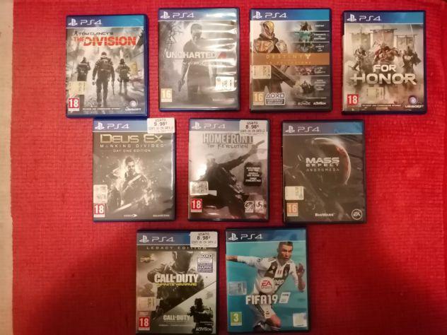 Playstation giochi ps4