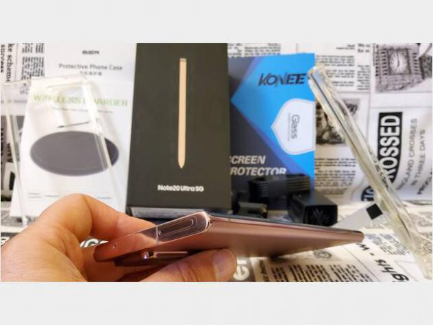 Samsung galaxy note 20 ultra 5g mystic bronze usato