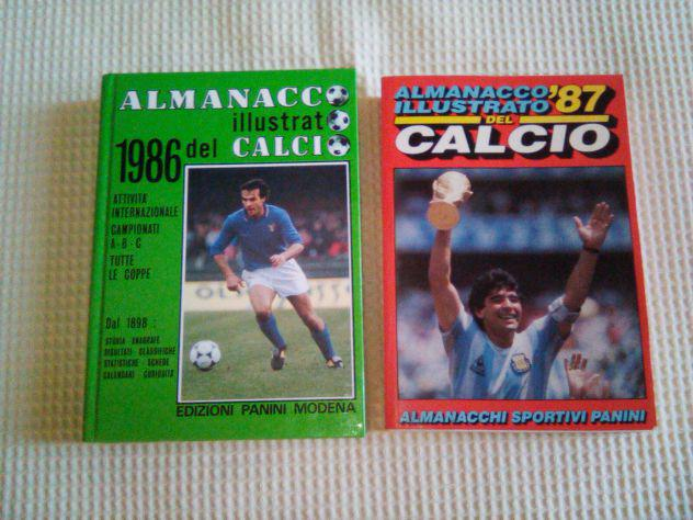 Almanacco illustrato del calcio del 1986 e 1987