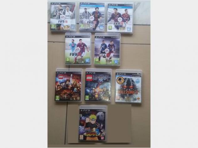 Playstation 3 ps3 lotto 9 game: fifa 11-13-14-15. usato