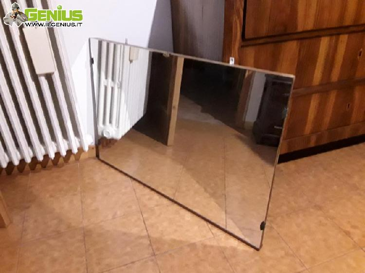 Specchio da parete antico 85 anni di et�, circa 75x45x3cm,