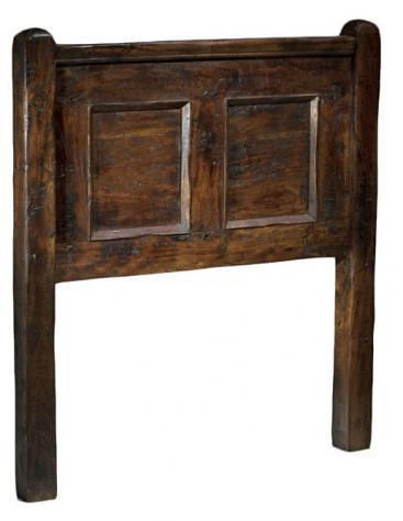 Testiera letto matrimoniale in legno adami antic