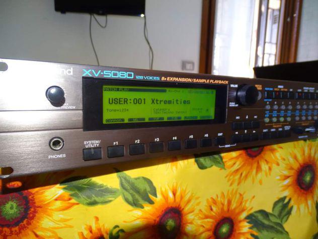 Espander roland xv5080 + roland jv2080 + opzional