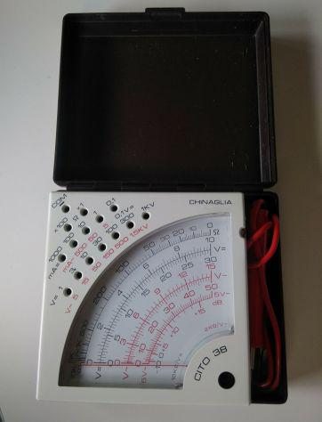 Multimetro tester analogico chinaglia mod. cito 38 pantec by
