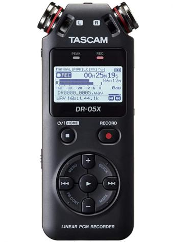 Tascam dr-05x (registratore audio professionale)