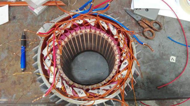 Ditta elettromeccanica per riavvolgimento motori elettrici