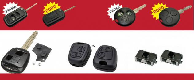 Riparazione chiavi auto con telecomando genova