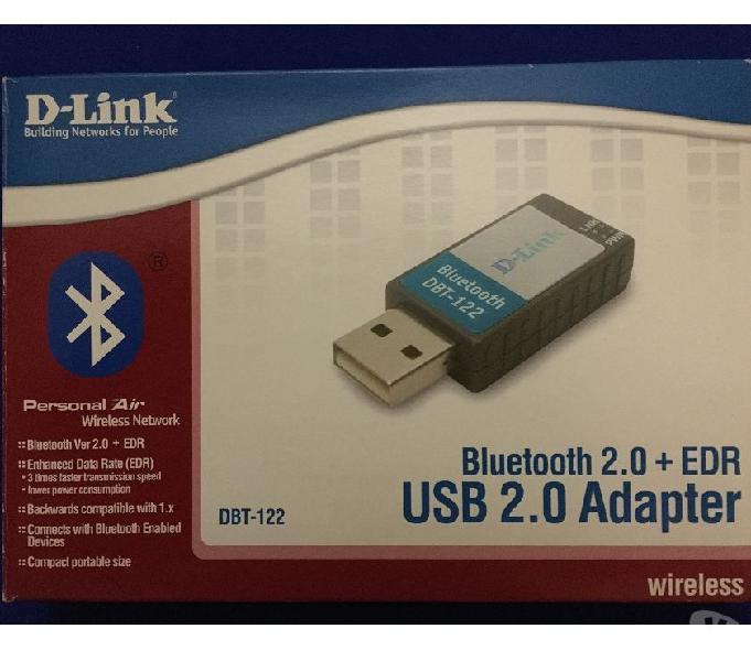 Usb bluetooth adapter d-link dbt-122