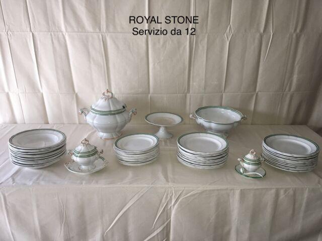Servizio antico da tavola royal stone (12 persone)