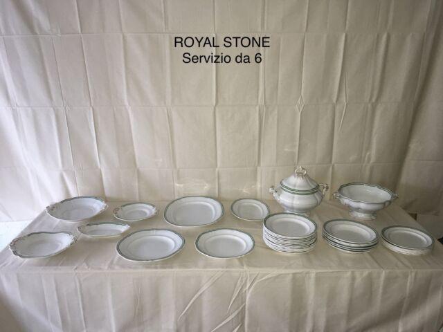 Servizio antico da tavola royal stone (6 persone)