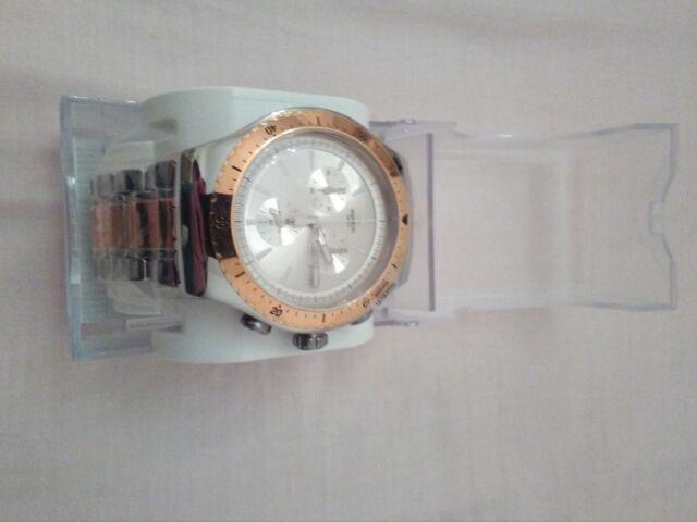 Swatch orologio digitale quarzo uomo con cinturino in