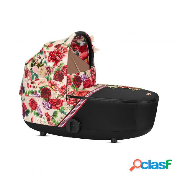 Lux carry cot cybex spring blossom mios fashion collection platinum light / light beige