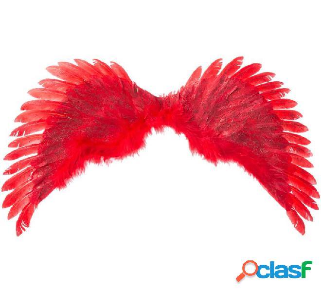 Red angel wings 70 x40 cm