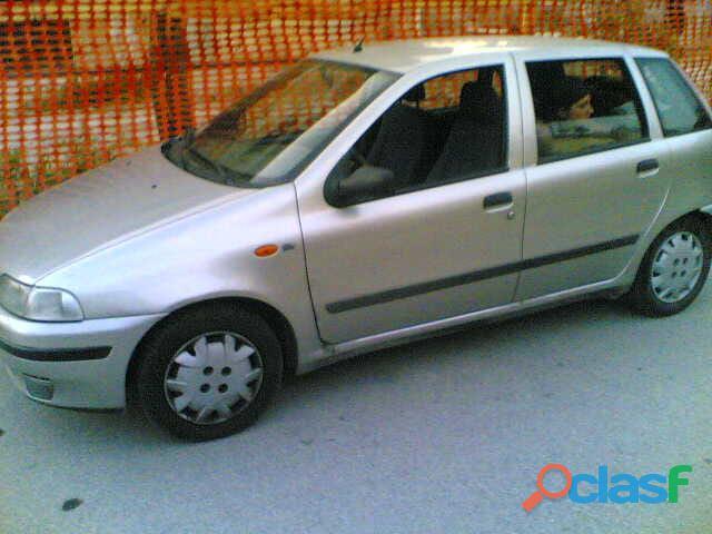 Fiat punto 5 porte grigio metallizzato