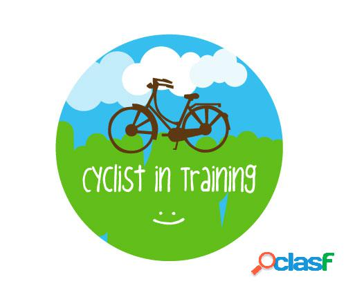 1 distintivo cyclist in training