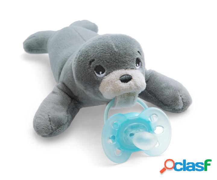 Succhietto avent ultrasoft peluche foca 0-6m