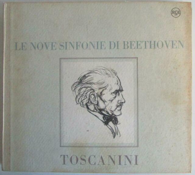 Arturo toscanini, nbc symphony orch. le 9 sinfonie di