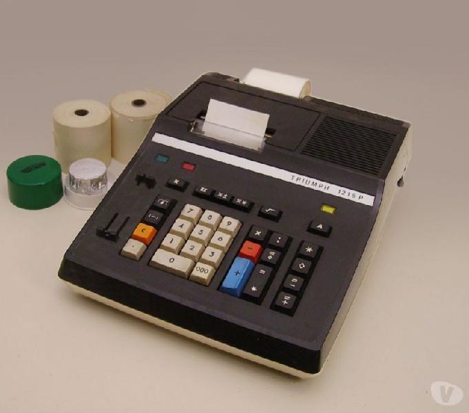 Calcolatrice elettrica triumph anni 70