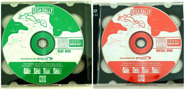 Sega rally championship (pc) *originale 1998*