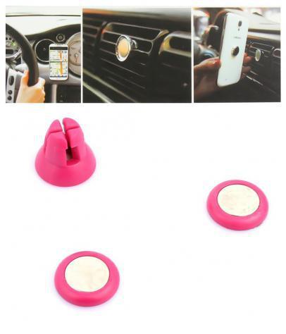 Supporto clip magnetica per smartphone e dispositivi