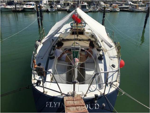 Barca a velamorgan yachts morgante 45 anno1983 lunghezza