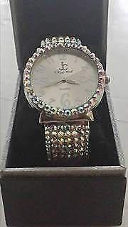 Orologio crystal quarzo a bracciale
