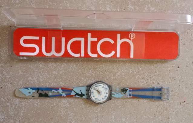 Swatch unisex pari al nuovo