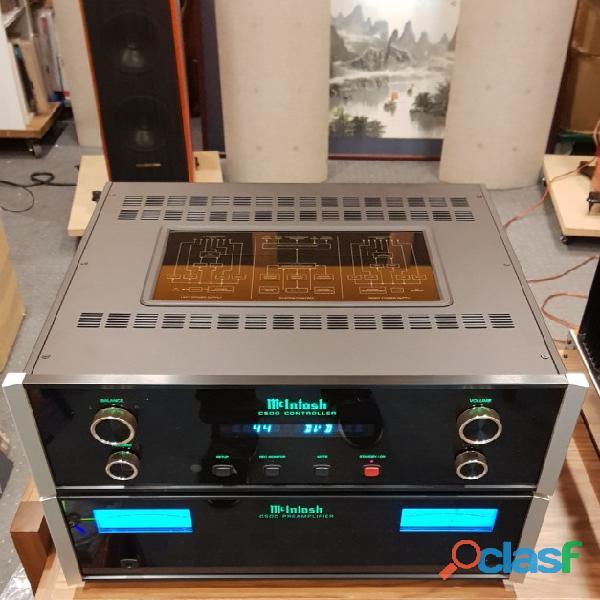 AMP.McIntosh C 500T dedicato, ad alte prestazioni.