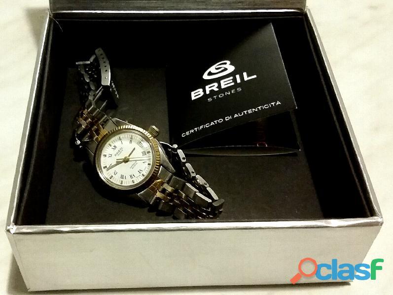 Orologio da donna Breil quartz 32766HZ acqua resiste 20ATM Swiss Made nuovo