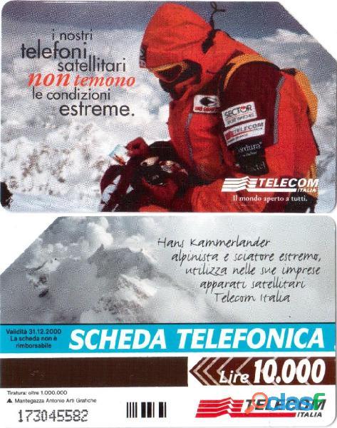 16 schede telefoniche usate da collezione 14